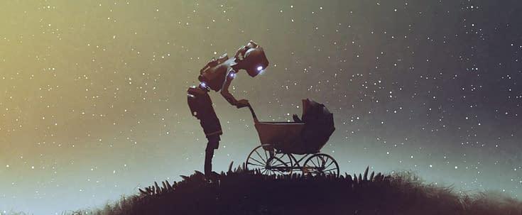 Robots make better baby lawyers?